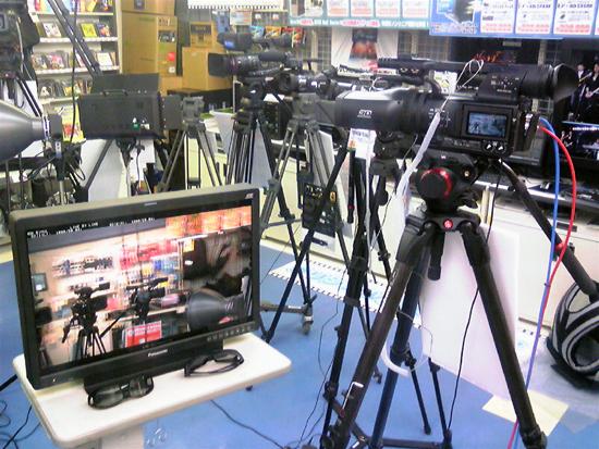 業務用3Dカメラ期間限定デモ中