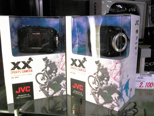 JCVから小型ウェアラブルカメラ登場