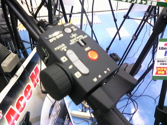 LANC・Panasonic両対応カメラリモコン新製品