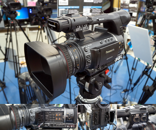 在庫限りのお買い得プロカメラAG-AC130