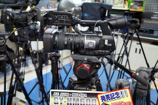 JVCから業務用ビデオカメラ新製品が登場!