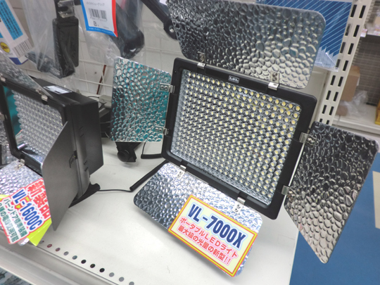 LEDライト大光量新モデル発売