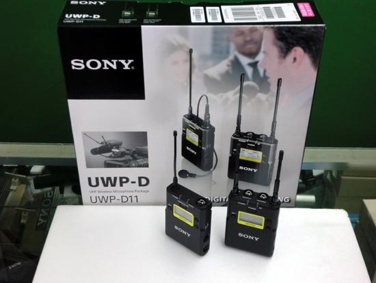UWP-D11ワイヤレスマイク
