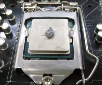 CPUクーラーについているグリスの一例
