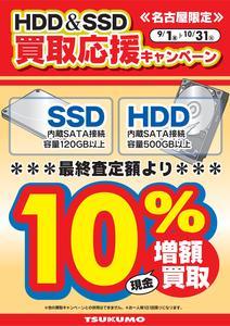 HDD増額