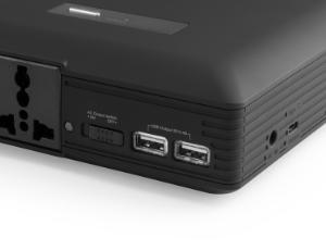 USB最大出力5V/3.4A出力、Type-C最大出力5V/3.1A