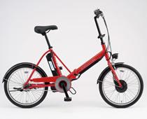SANYO 折りたたみ式 電動ハイブリッド自転車 CY-SPJ220(R)