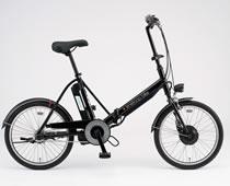 SANYO 折りたたみ式 電動ハイブリッド自転車 CY-SPJ220(K)